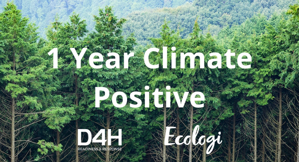 Over 2,000 Trees Planted as we Hit 1 Year Climate Positive