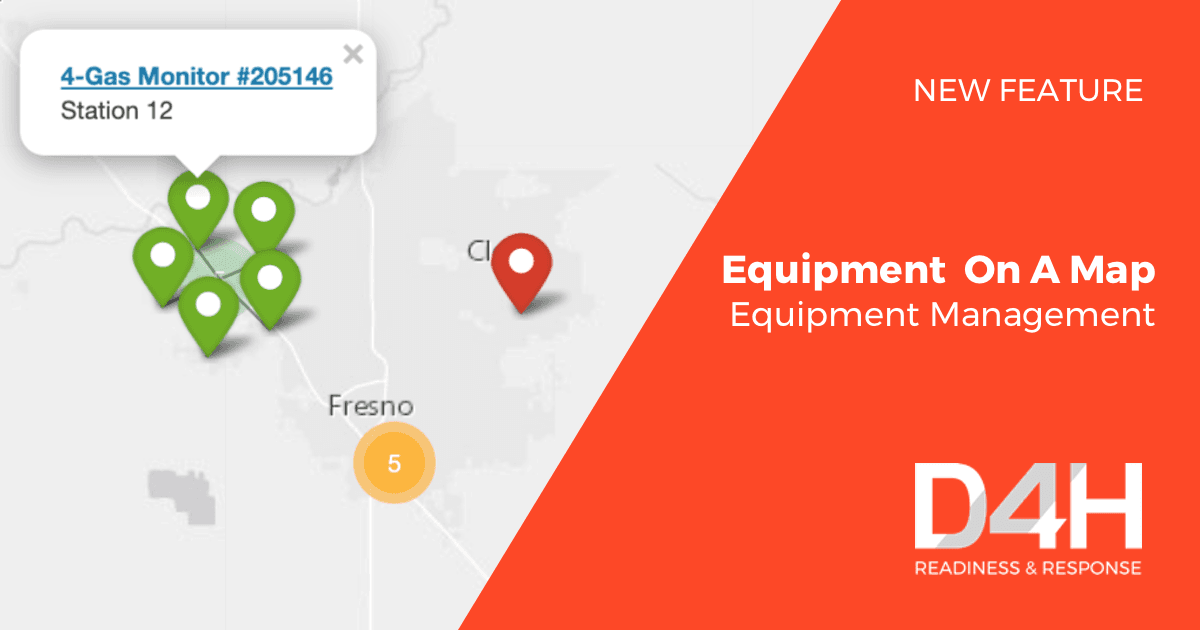 New Feature: Equipment On A Map