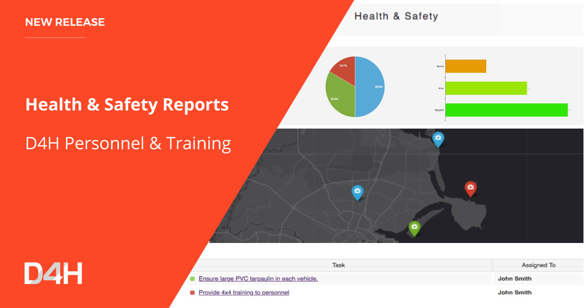 D4H Launches Health & Safety Reporting For Emergency Response Teams