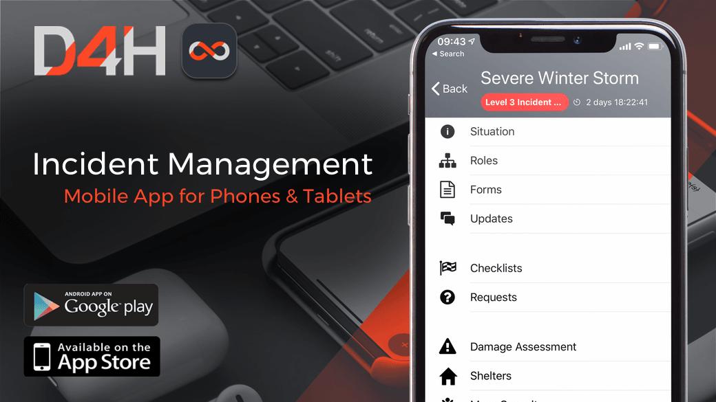 Introducing the D4H Incident Management App