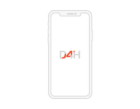 D4H app running on a mobile device or tablet.