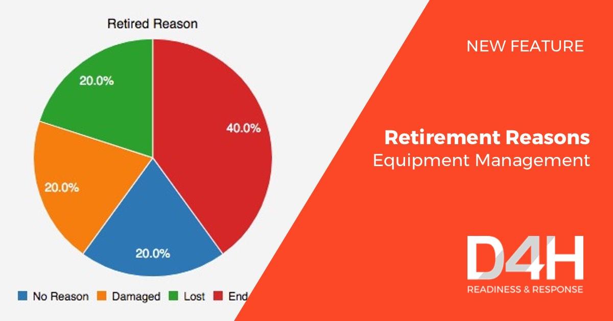 New Feature: Track Equipment Retirement Reasons