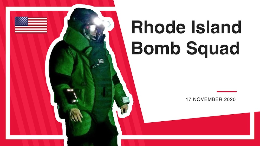 Life in a Bomb Squad with Deputy Marshal Thomas Groff
