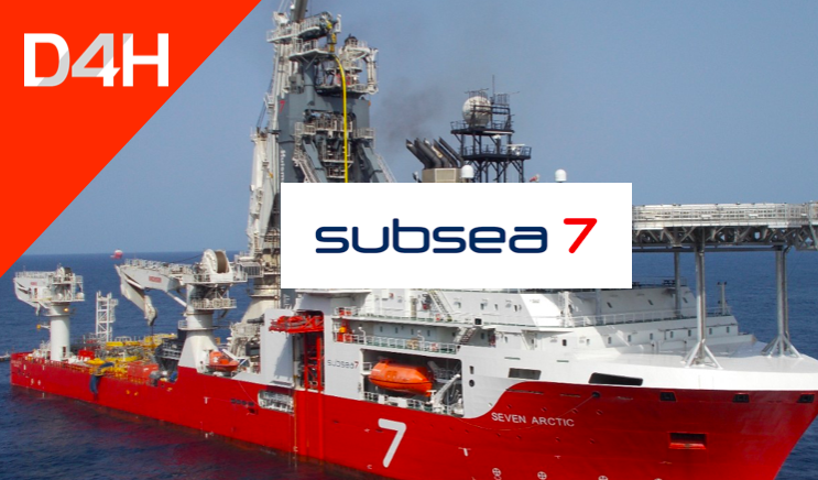 How Subsea 7 Uses D4H to Manage and Support Onshore and Offshore Emergencies