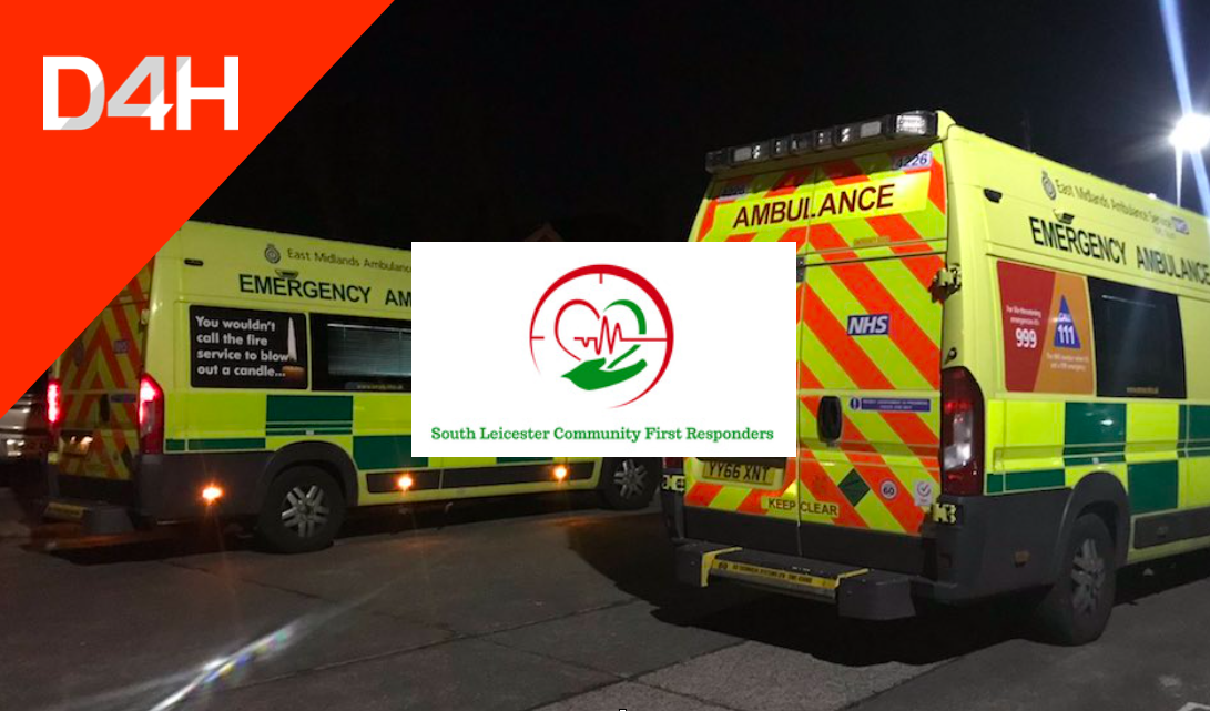 How the South Leicester Community First Responders Deployed D4H to Support Critical Medical Callouts