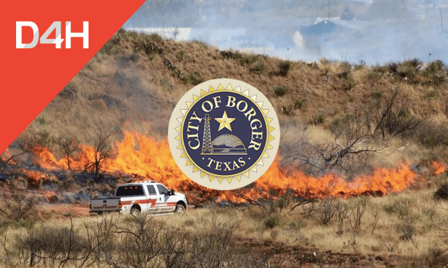 How Borger OEM Uses D4H to Manage Wildfire Responses