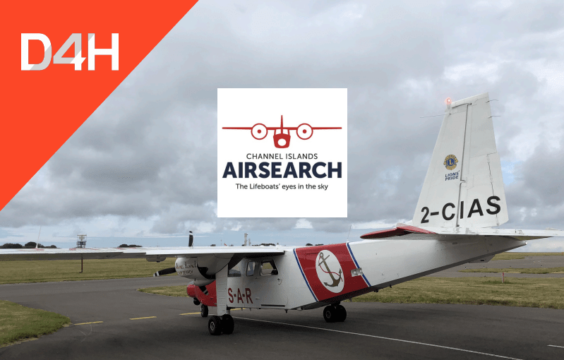 How the Channel Islands Air Search Uses D4H to Support Their Search and Rescue Missions