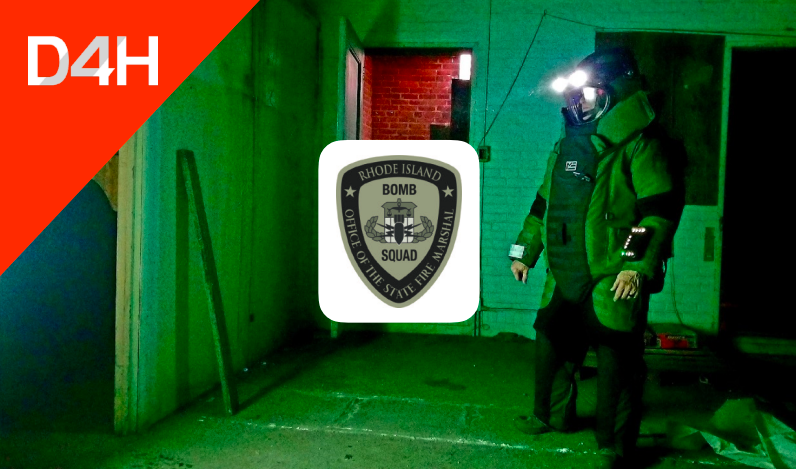 How Rhode Island Bomb Squad Tracks their Multi-Million Dollar Equipment Cache with D4H
