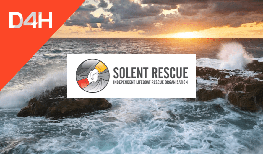 How Solent Rescue Gains Oversight Over 7 Independent Lifeboat & Rescue Organizations With D4H