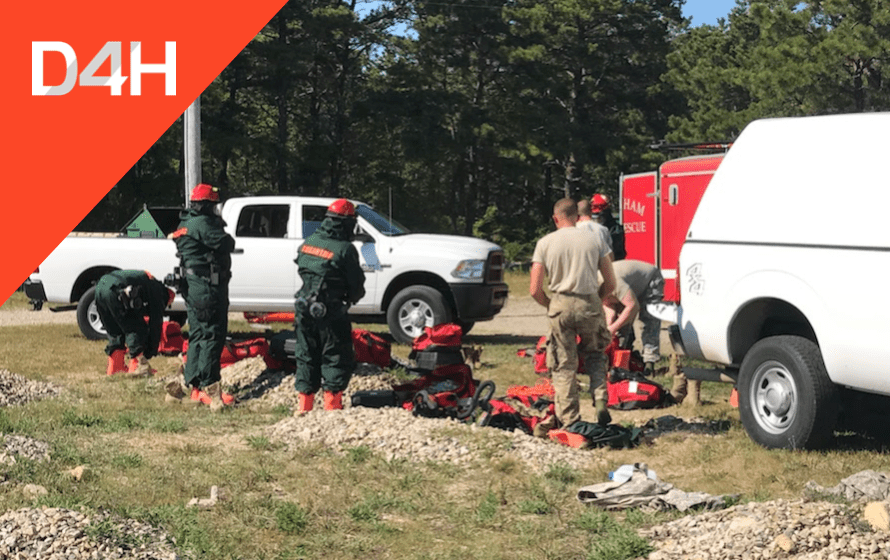 D4H Deployed to Statewide USAR Mobilization