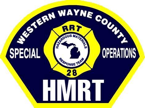 Captain Michael J. Magda, Hazardous Materials Specialist, Western Wayne County HMRT Logo