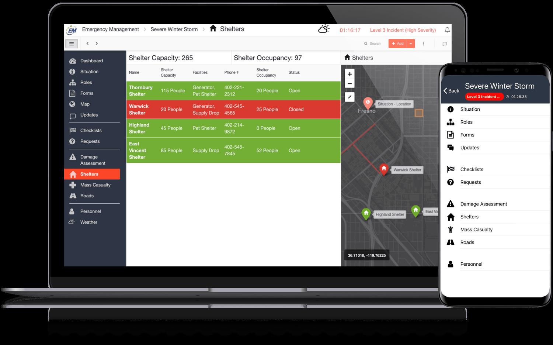 D4H incident management software interface